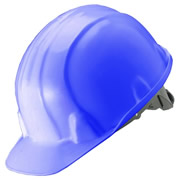 Guardsman A06BLU Safety Helmet (Blue)