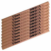Hanson 00213 Hanson Medium Pencils (x10) With Sharpener