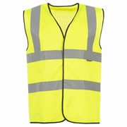 Vaughan Hi-Vis Vest Pack of 10