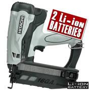 Hitachi NT65GS Hitachi Cordless Straight Finishing Nailer
