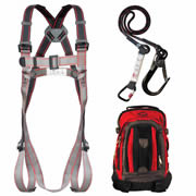 JSP FAR1104 JSP PIONEER Fall Arrest Kit with 2m Lanyard and Backpack
