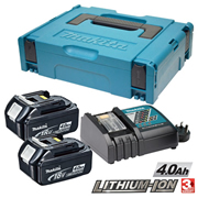 Makita POWER4 (240v) Makita 18V 4.0Ah Power Pack (240v Charger)