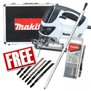 Makita 4350CTWXPK2 Makita Orbital Action Jigsaw Special Edition (Black & White) Pack 2
