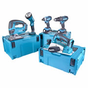 Makita 5CMJ Makita 18v Li-ion 4.0Ah 5 Piece Kit
