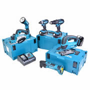 Makita 6KTJ Makita 18v Li-ion 5.0Ah 6 Piece Kit