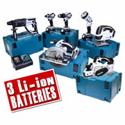Makita 7WMJ Makita 18v Li-ion 7 Piece White Kit