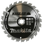 Makita B-08894 Makita 190mm 24 Tooth 'MAKBLADE' TCT Circular Saw Blade
