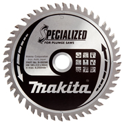 Makita B-09298 Makita 165mm 48 Tooth Wood Cutting Saw Blade for SP6000