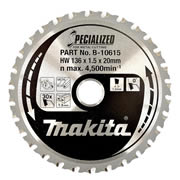 Makita B-10615 Makita 136mm 30 Tooth Metal Cutting Disc For BCS550Z