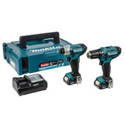 Makita CLX201AJ Makita 10.8v CXT Li-ion 2 Piece Kit