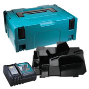 Makita DDASC Makita Stackable Case, Angle Drill Inlay and Charger