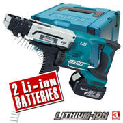 Makita DFR550RFE Makita 18v Li-ion Autofeed Screwgun