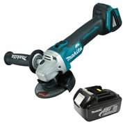 Makita DGA456Z3 Makita 18v LXT Li-ion Brushless Cordless Grinder 115mm (Body) + 3.0Ah Battery