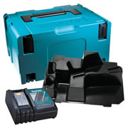 Makita DGASC Makita Stackable Case, Grinder Inlay and Charger