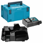 Makita DHRSC Makita Stackable Case, SDS+ Inlay and Charger