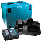 Makita DHRCX Makita Stackable Case, SDS+ Inlay and Charger