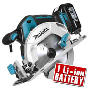 Makita DHS680Z3 Makita 18v Li-ion Brushless Circular Saw 165mm Body + 1 x 3.0Ah Battery