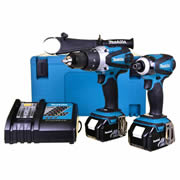Makita DLX2005RJ Makita 18v Li-ion 2 Piece Kit