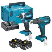 Makita DLX2173MJ Makita 18v Li-ion 4.0Ah Brushless 2 Piece Kit