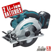 Makita DSS610RFE Makita 18v Li-Ion Heavy Duty 165mm Cordless Circular Saw
