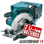 Makita DSS611RFE Makita 18v Li-ion 165mm Circular Saw