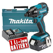DTD129KIT Makita 18v Li-ion Brushless Impact Driver MAKDTD129KIT