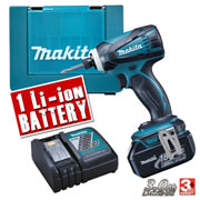 DTD146KIT Makita 18v Lithium-Ion Impact Driver MAKDTD146KIT