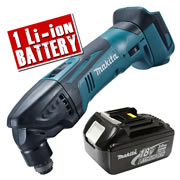 Makita DTM50Z3 Makita 18v Li-ion Cordless Multi-Tool Body + 1 x 3.0Ah Battery