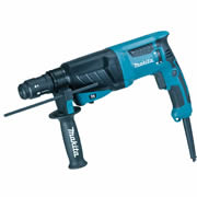 Makita HR2630T Makita 3 Mode SDS+ Rotary Hammer Drill with Keyless Quick Chuck