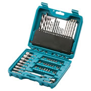 P90358 Makita 60 Piece Pro Accessory Set MAKP90358