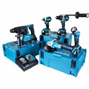 Makita TOPKIT5DJ Makita 18v 5 Piece Fully Brushless Kit