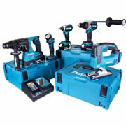Makita TOPKIT5FJ Makita 18v 5 Piece Fully Brushless Kit