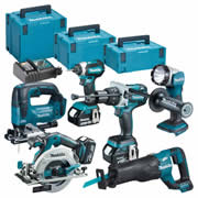 Makita TOPKIT6BJ Makita 18v 6 Piece Fully Brushless Kit