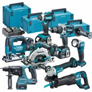 Makita TOPKIT8BJ Makita 18v 8 Piece Fully Brushless Kit