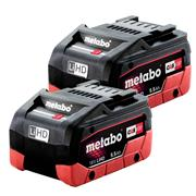 Metabo 625342000PK2 Pack of 2 Metabo 18v LiHD 5.5Ah Batteries
