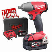 Milwaukee M18 FIWP12-502X Milwaukee 18v Li-ion Next Gen Fuel Impact Wrench