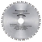 Panasonic EY9PM13C Panasonic 135mm TCT Saw Blade (Metal Cutting)
