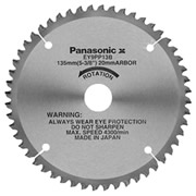 Panasonic EY9PP13B Panasonic 135mm TCT Saw Blade (Plastic Cutting)