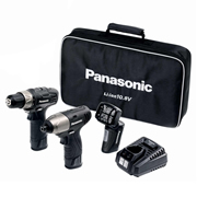 EYC110LA2L Panasonic 10.8v Li-ion Black Edition 2 Piece Kit PANEYC110LA2L