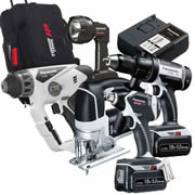 Panasonic EYC2007LJ31 Panasonic 18v 5.0Ah Li-ion Cordless 5 Piece Kit