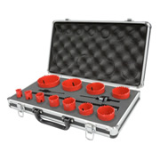 PROHOLESET11 Bi-metal Hole Saw Set 14pce PROHOLESET11