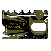 ITS PROWMT Pro Wallet Warrior Credit Card Multi-Tool
