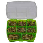 Rawlplug BBGWSETR Rawlplug Timber Screws 245 Piece Set