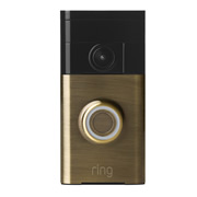 Ring RVDAB Ring Video Doorbell Antique Brass