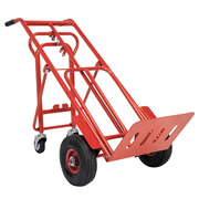 Sealey Sack Truck 3-in-1 with Pneumatic Tyre 250kg Capacity
