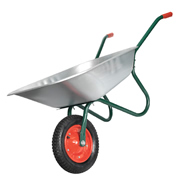 Sealey WB65 Sealey 65 Ltr Galvanized Wheelbarrow