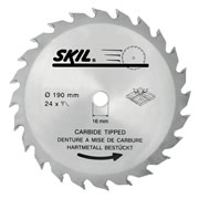 Skil 26010393615 Skil Masters 190mm Tungsten Carbide Tipped Blade (Medium Cut)
