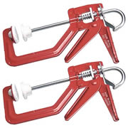 Solo SOL150PK2 Solo One Handed Clamp (150mm) Twin Pack