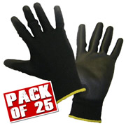 Honeywell 21002510PK25 Honeywell WorkEasy Gloves (Extra Large) Pack of 25