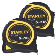 Stanley 030-696-PK2 Stanley Bi Material Tape 5m/16ft Twin Pack